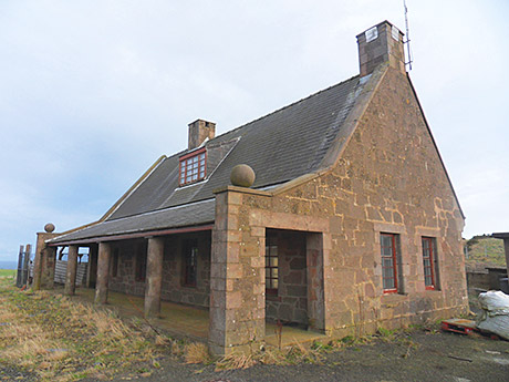 The Guard House is said to be ripe for development.