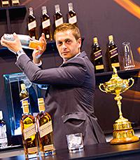 • Bartender David Rios.