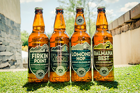 Recent developments at the Oak Tree Inn include the launch of an on-site microbrewery, the Balmaha Brewery,