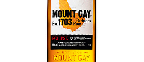 The new Mount Gay Eclipse bottle.