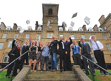 Graduates of this year's Hilton Scottish Chef Apprenticeship Programme.