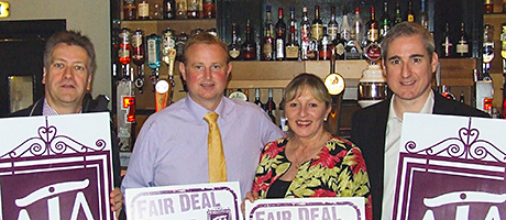 • The Fair Deal for your Local campaign travelled to Scotland in May.