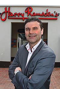 Harry Ramsden's CEO Joe Teixeira.