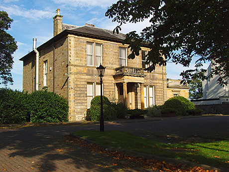 Strathdoon House was recently used by NHS Ayrshire & Arran as a clinic and office.