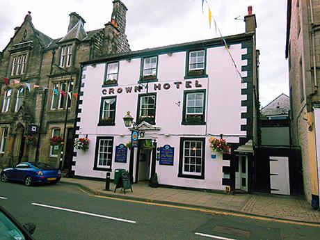 Stake a claim to Langholm Crown Hotel