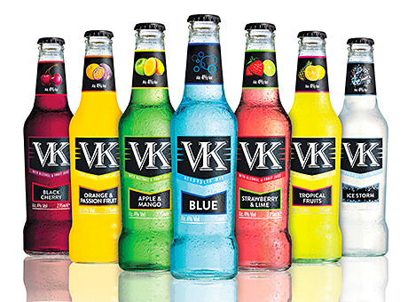 • The revamped VK range incorporates five new fruit flavours alongside VK Blue and VK Ice Storm.