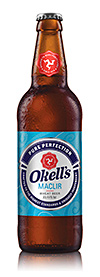• Okell's range includes four bottled beers.