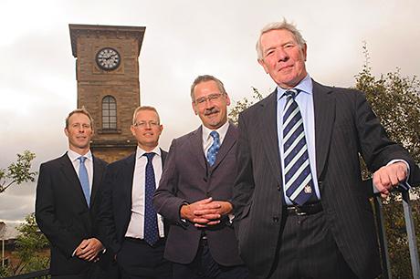 • The Glasgow Distilling Company: (from left) Andrew Morrison, Kenny McAllister, Glen Moore and Tim Morrison.