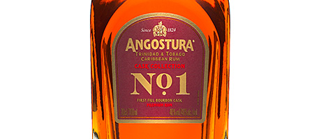 • Angostura No.1 is aged in first fill casks.