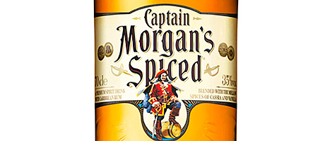 • Then and now: Captain Morgan.