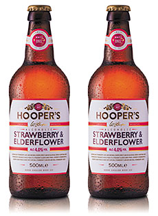 • New Hooper's Strawberry & Elderflower.