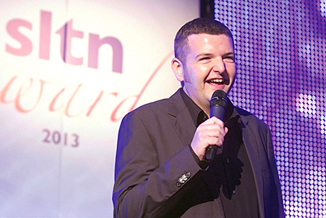 • Scots comic Kevin Bridges handed out the gongs at the SLTN Awards.