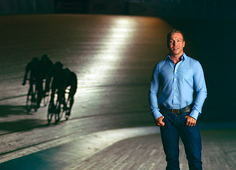 • Glasgow 2014 ambassador Sir Chris Hoy features in the new advert.