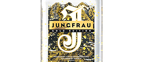 • All that glitters: new gold-infused Jungfrau and glitter-infused Corky's launched this month.
