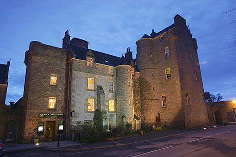 • Dornoch Castle has 25 letting bedrooms.