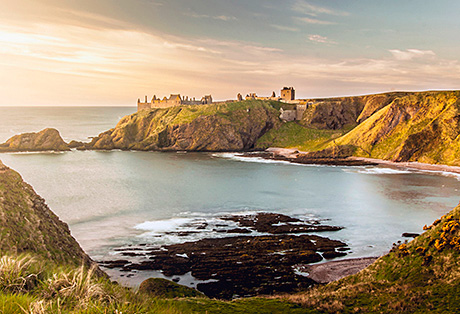 • Dunnottar Castle placed 7th in global poll to name wonder of the world.
