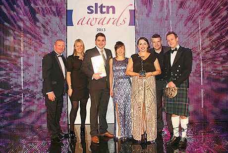 • The Whiski Rooms team at the SLTN Awards.