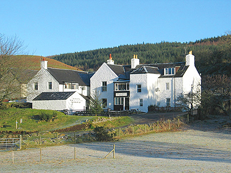 • The Bellachroy Hotel on the Isle of Mull.