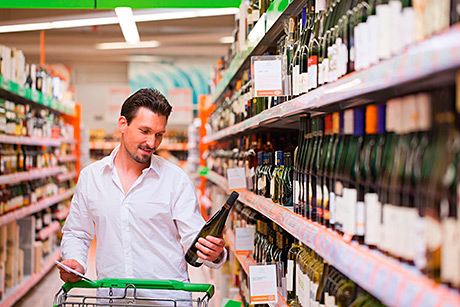 • People are buying alcohol more often since the ban, the report claims.