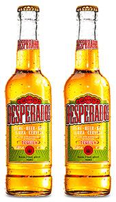 • Desperados is 5.9% ABV.