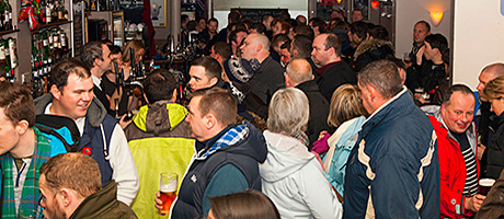 • International rugby matches are a big crowd-puller for the Murrayfield Bar in Edinburgh.