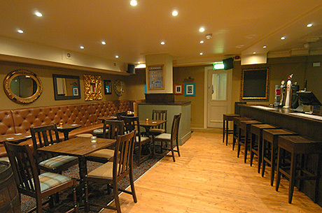 • The downstairs bar will be used for functions and, on busy nights, overspill from upstairs.