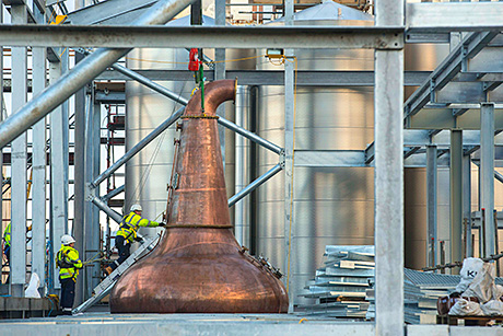 • Diageo's investment plan recently saw new stills installed at Glen Ord.