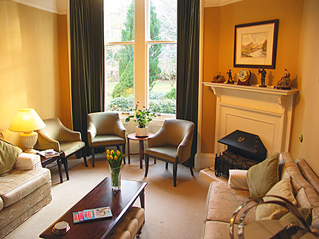 • Corrour House is located in the Cairngorms National Park near Aviemore.