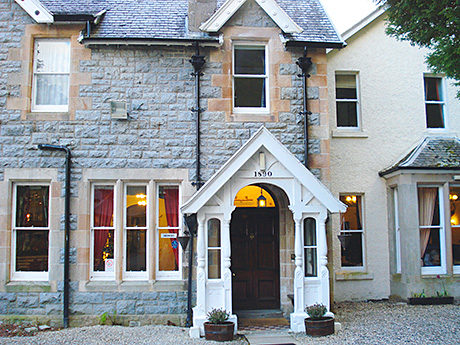 • Creag Mhor Lodge has ten letting rooms.