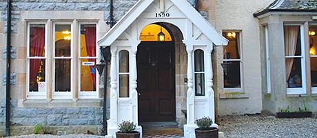 • Creag Mhor Lodge has ten letting rooms.