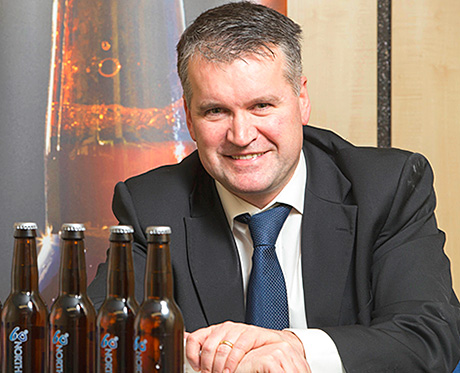 • Lerwick Brewery co-founder and distribution manager Graham Mercer.