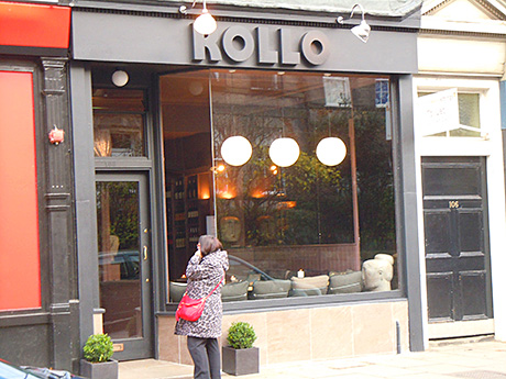 • Rollo is in Stockbridge.