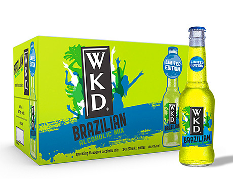 • WKD Brazilian will be promoted online, through sampling activity and via point of sale materials.