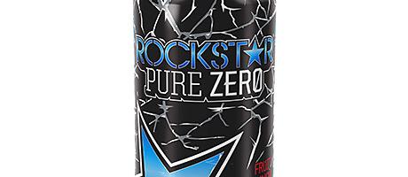 • New Rockstar Pure Zero.