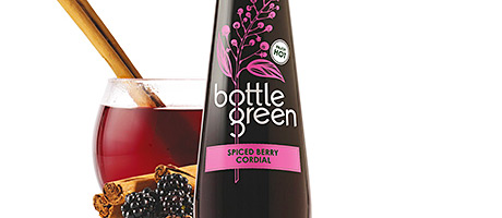 • Bottlegreen's Spiced Berry variant.• Bottlegreen's Spiced Berry variant.
