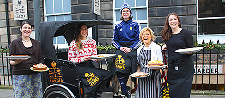 Larder goes larger with new bakery