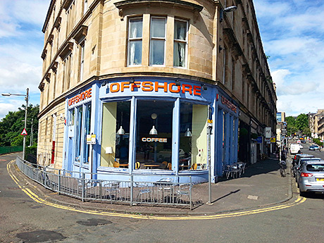 • Offshore is on Glasgow's Gibson Street.