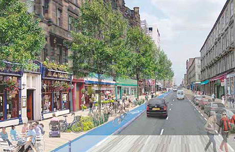 • The BID aims to make a range of improvements to Sauchiehall Street.