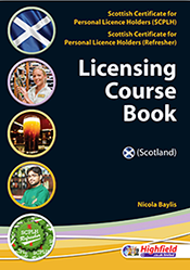 Scottish Certificate for Personal Licence Holders