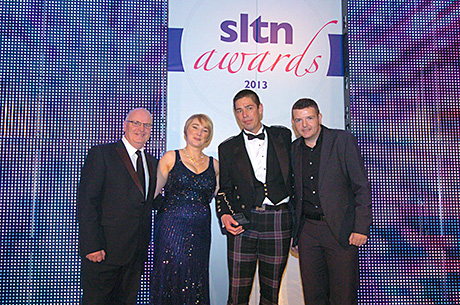 • The Elizabethan Bar and Lounge in Fraserburgh picked up the 2013 SLTN Beer Quality Award.