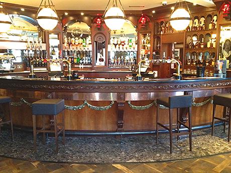 The public bar.