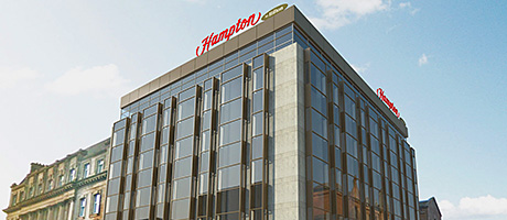 • The new 88-bedroom Hampton by Hilton hotel is due to open this summer.