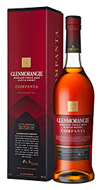 • The new Glenmorangie Companta.