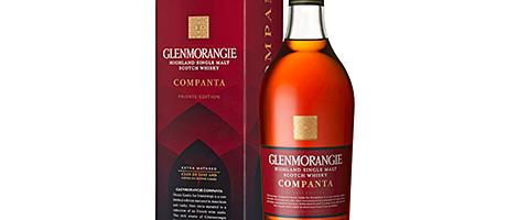 • The new Glenmorangie Companta.