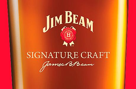 • Jim Beam Signature Craft 12 Year.