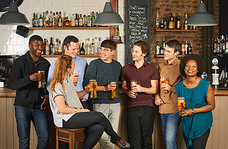 • 'Mixed-sex drinking occasions' account for 45% of on-trade beer sales, according to Heineken.