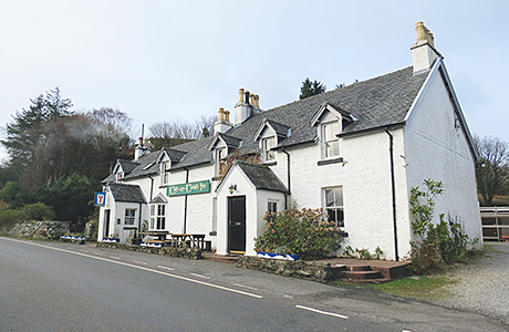 • The Tigh an Truish Inn is set in 1.8 acres.
