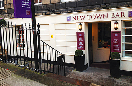 • Edinburgh's New Town Bar has previously been used as an official Fringe Festival venue.