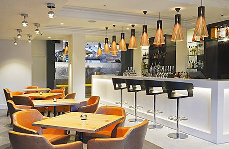 • The hotel's IX restaurant.