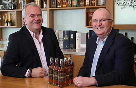 Succession plan: Brian Calder and John Gilligan of Wallaces TCB.